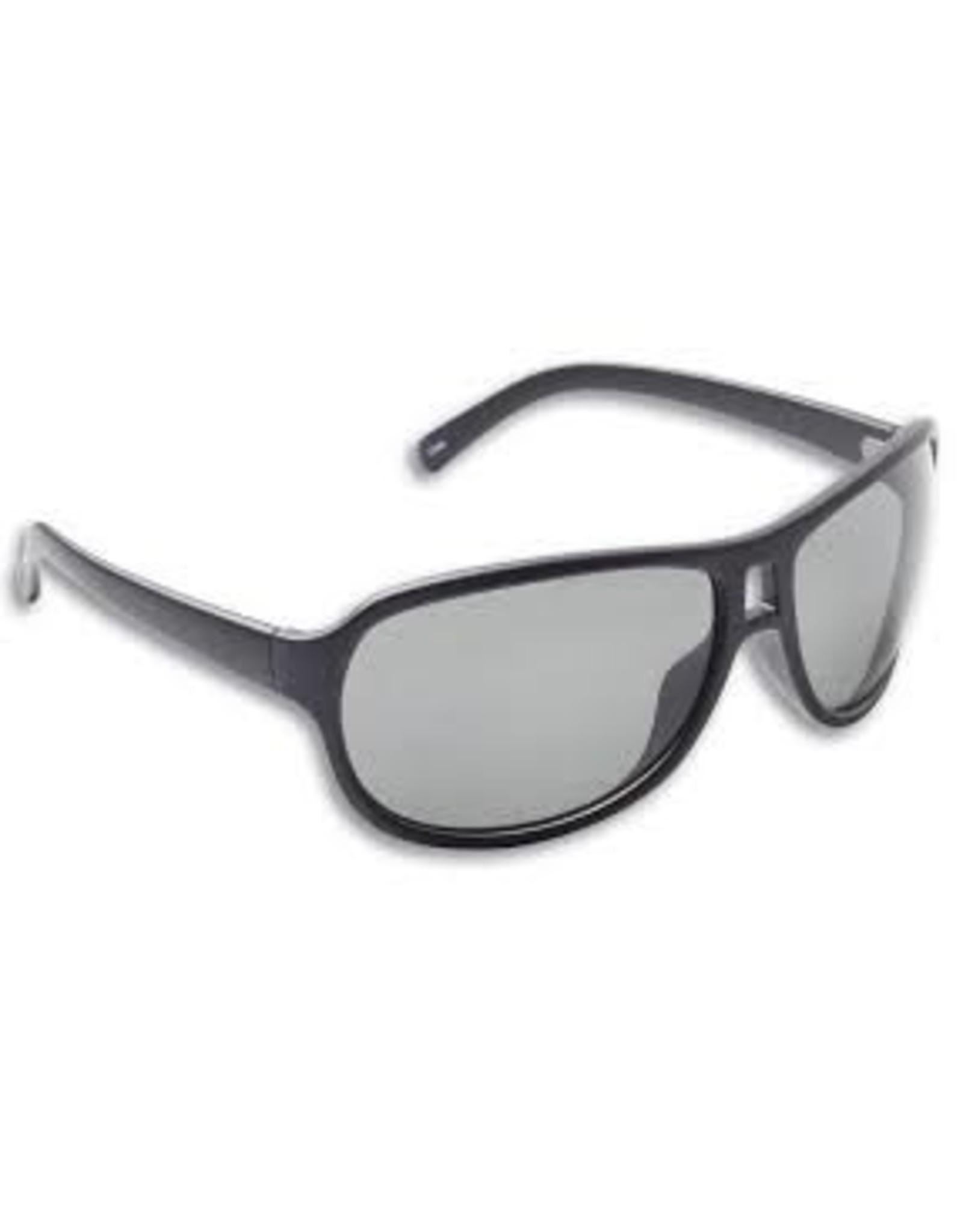 Islander Black Frame Gray Polarized Lens