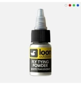 Loon Fly Tying Powder: Pearl Red
