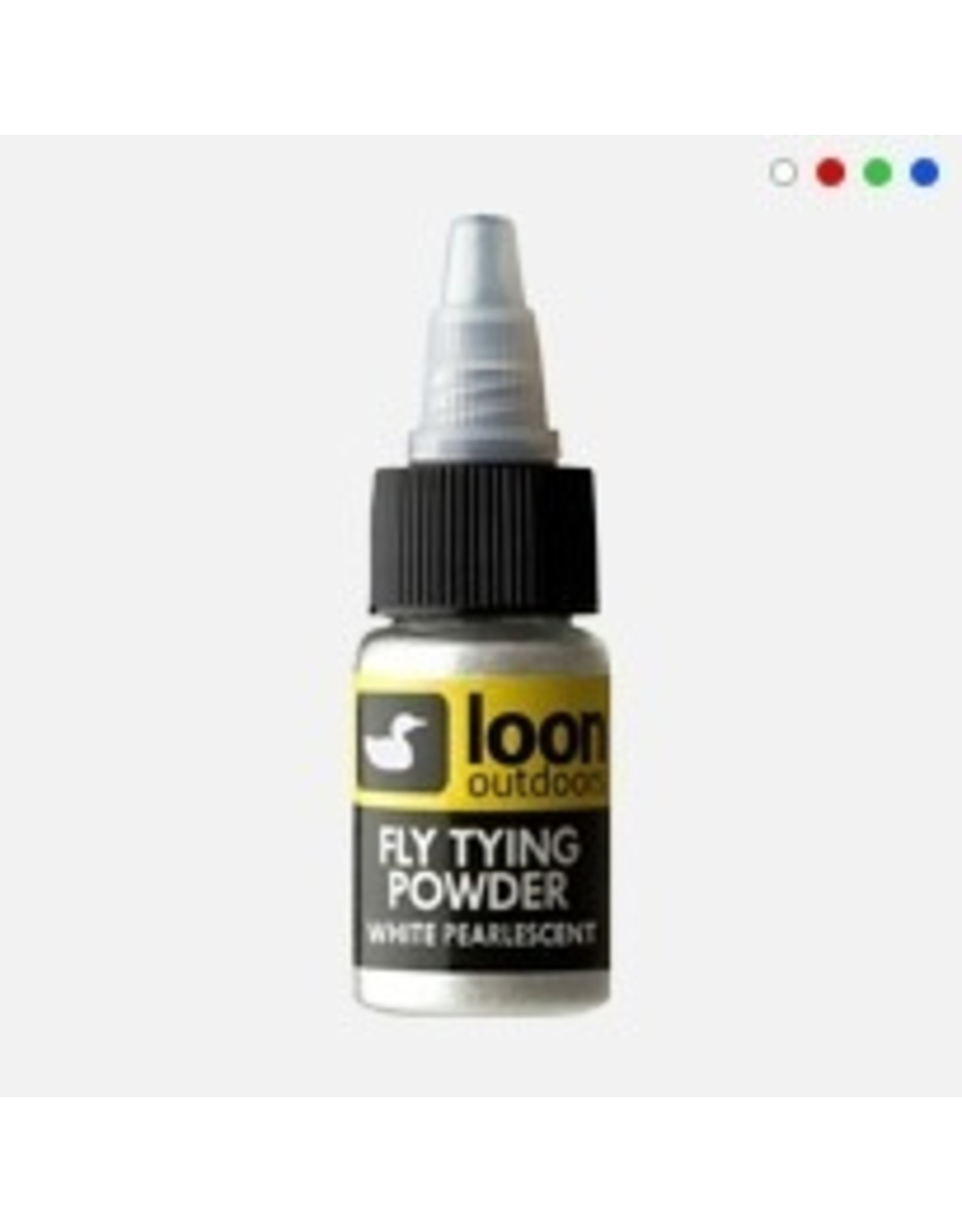 Loon Fly Tying Powder: Pearl White