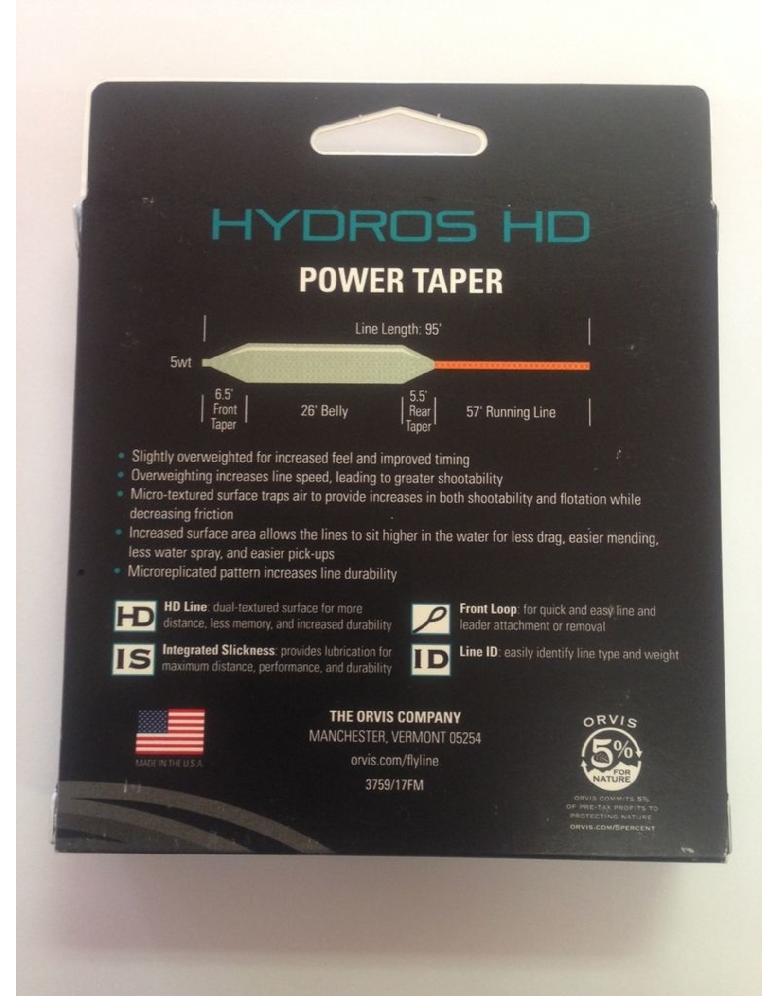 Orvis Orvis Hydros HD Powertaper Fly Line