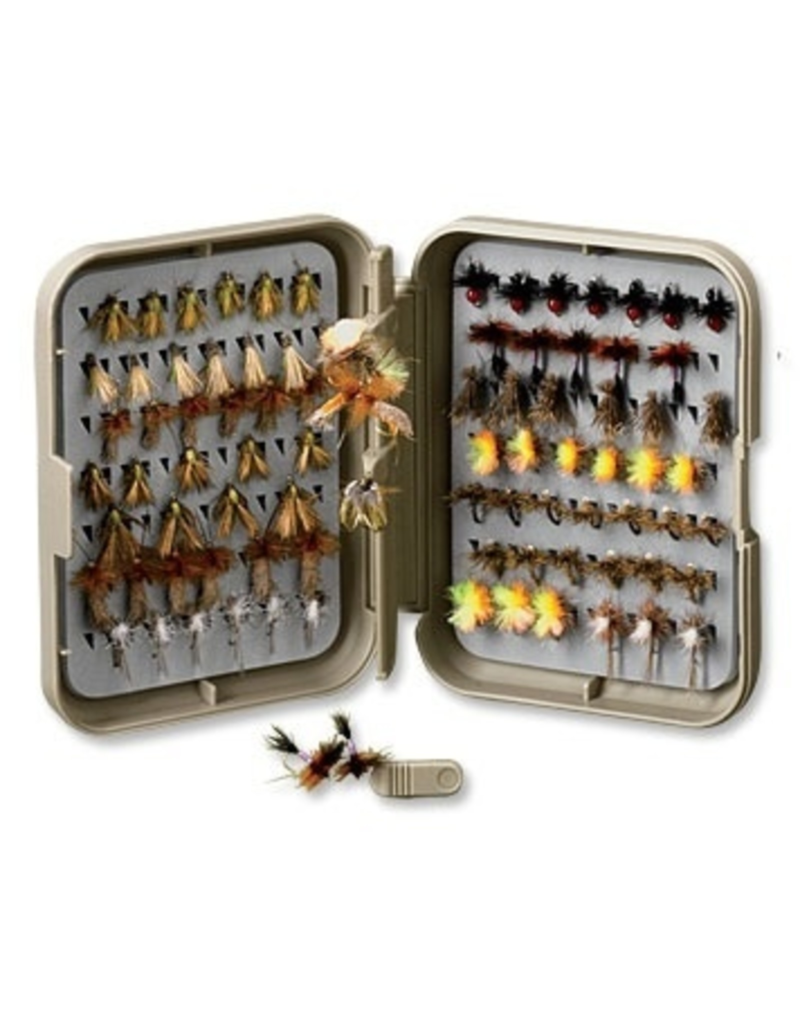 Orvis Orvis Posigrip Threader Fly Box Medium