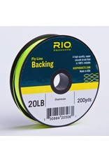 Rio RIO Fly LIne Backing 20 lb 200yds (Chartreuse)