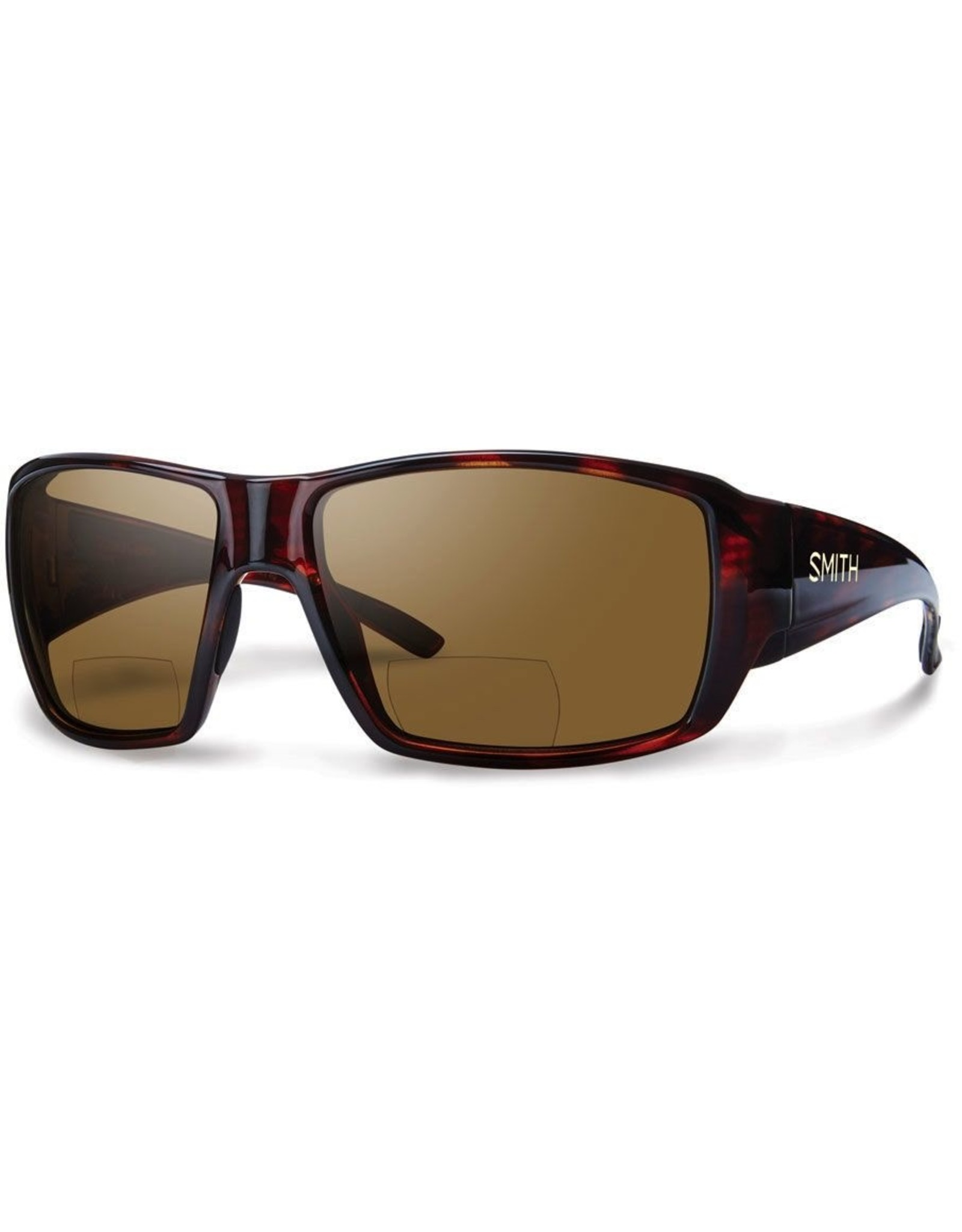 Smith SMITH Guide's Choice (Polar Brown 2.50 Bifocal) Matte Havana Frame