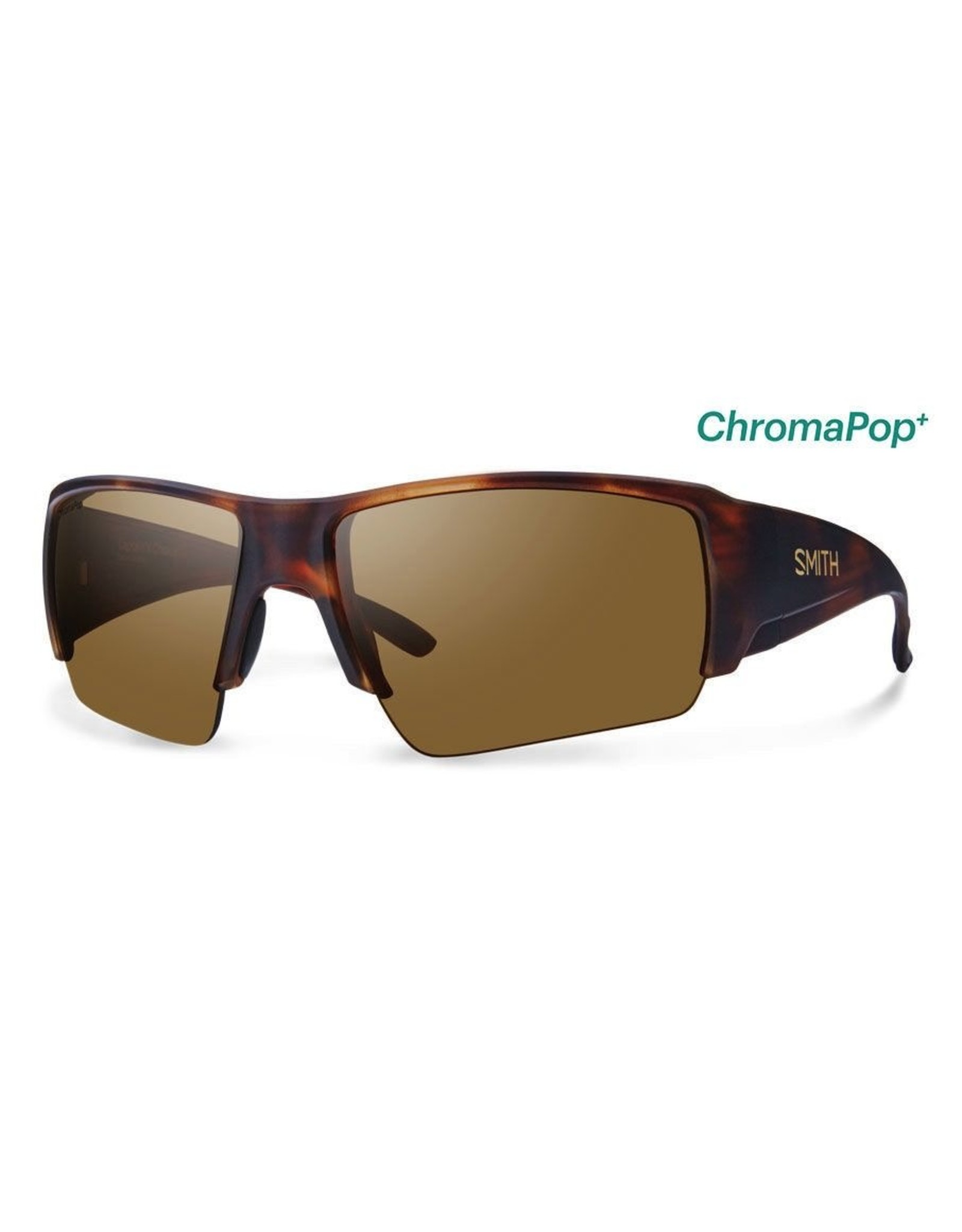 Smith SMITH Captain's Choice (ChromaPop Polarized Brown) Matte Havana Frame