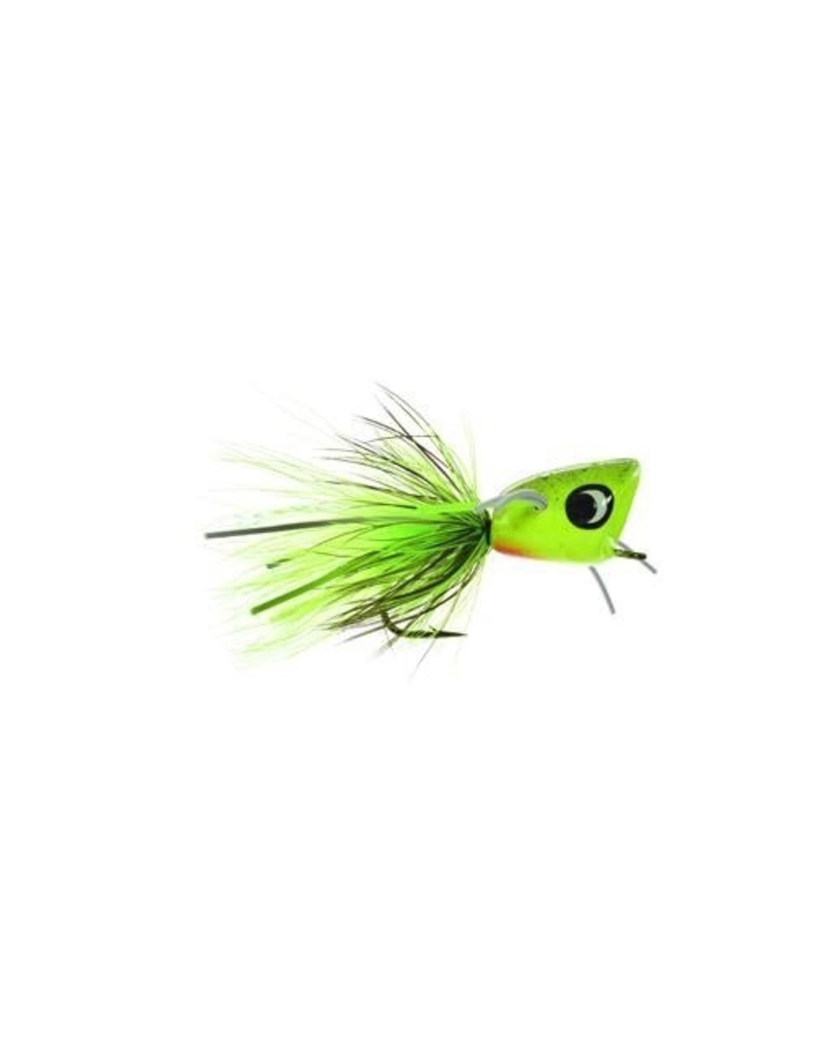 Umpqua Bass Popper Green Splatter (1 Pack) 10