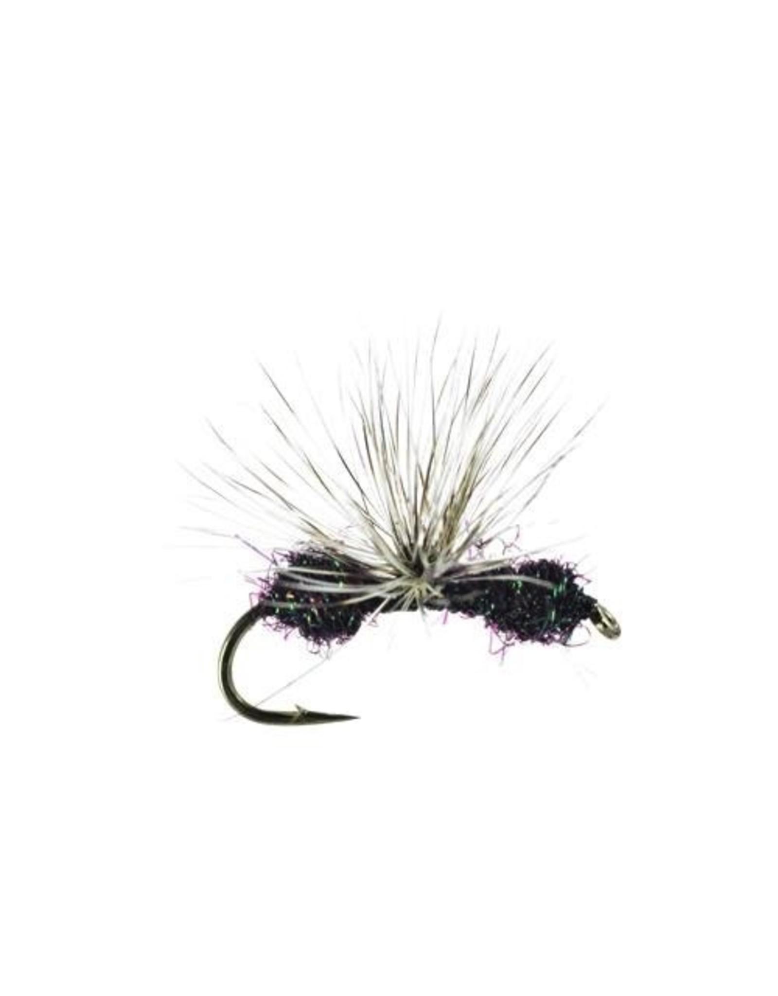 Umpqua Glitter Ant, Quigley, Black, 16, (3  Pack)