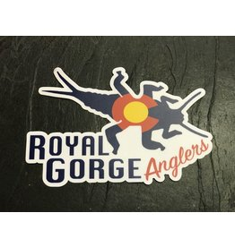 Royal Gorge Anglers Royal Gorge Anglers CO StoneBug Sticker