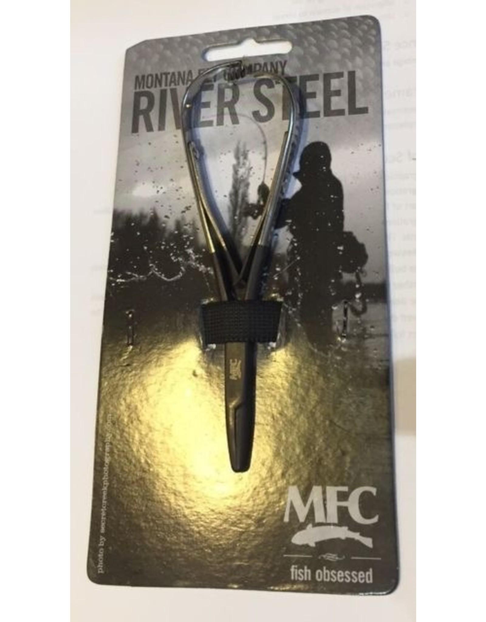 "MFC MFC Forceps River Steel 5"" Mitten"