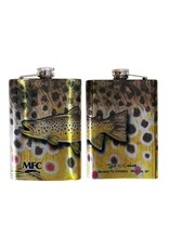MFC MFC Stainless Steel Hip Flask Currier Brown
