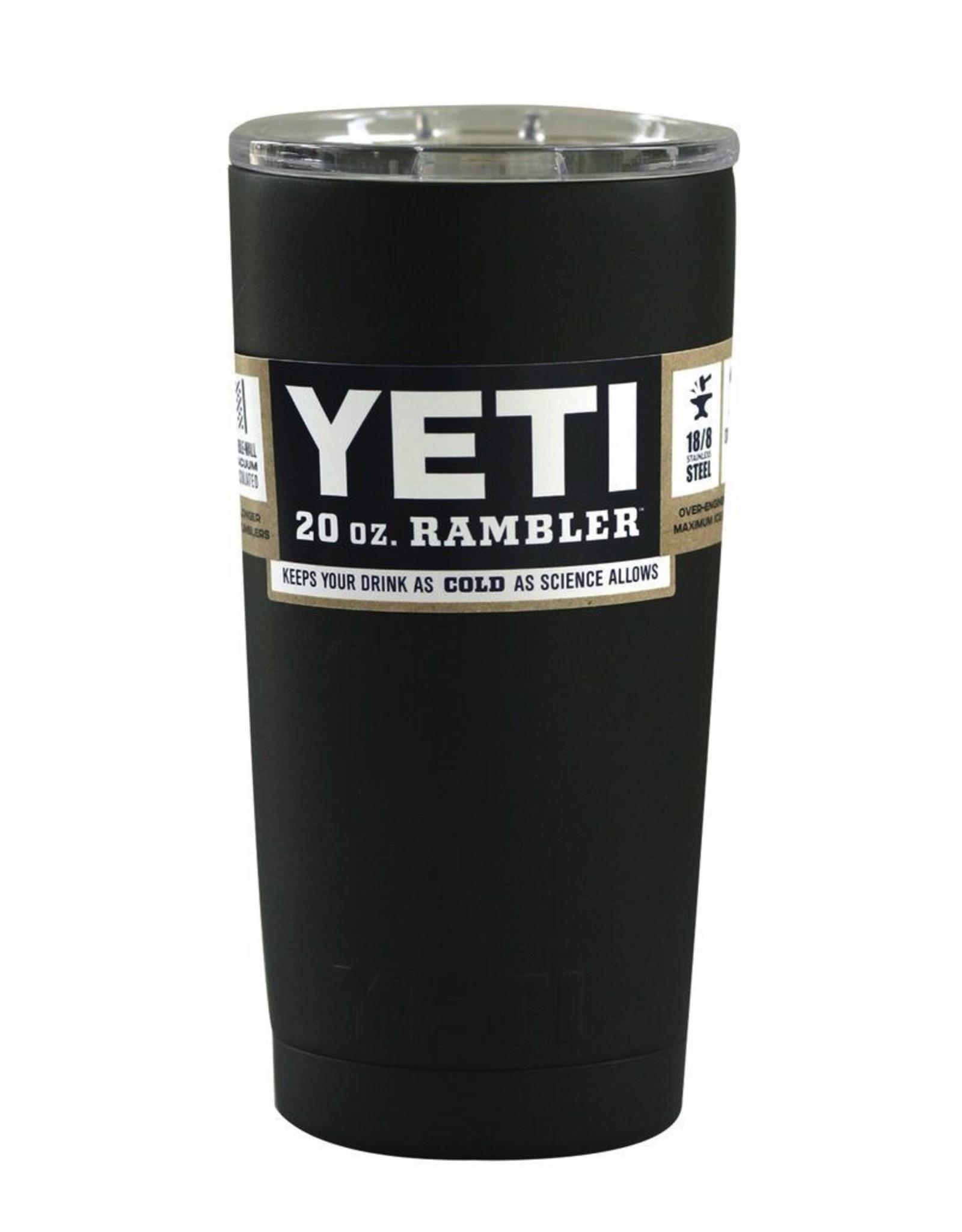 Yeti Yeti Rambler 20oz (Black)