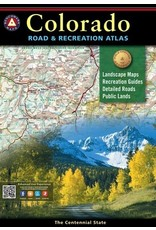 Benchmark Benchmark Maps Colorado Road and Recreation Atlas