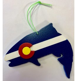 Richardson Art Colorado Trout Ornament