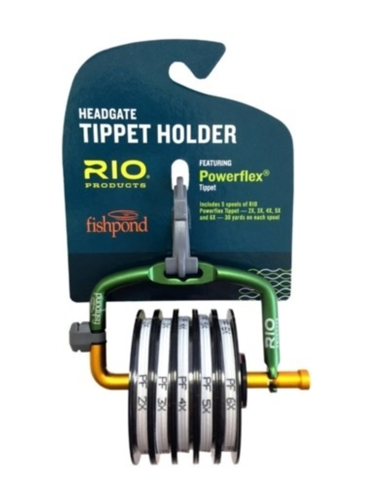 Rio Rio Headgate Powerflex Tippet Holder with 2X-6X