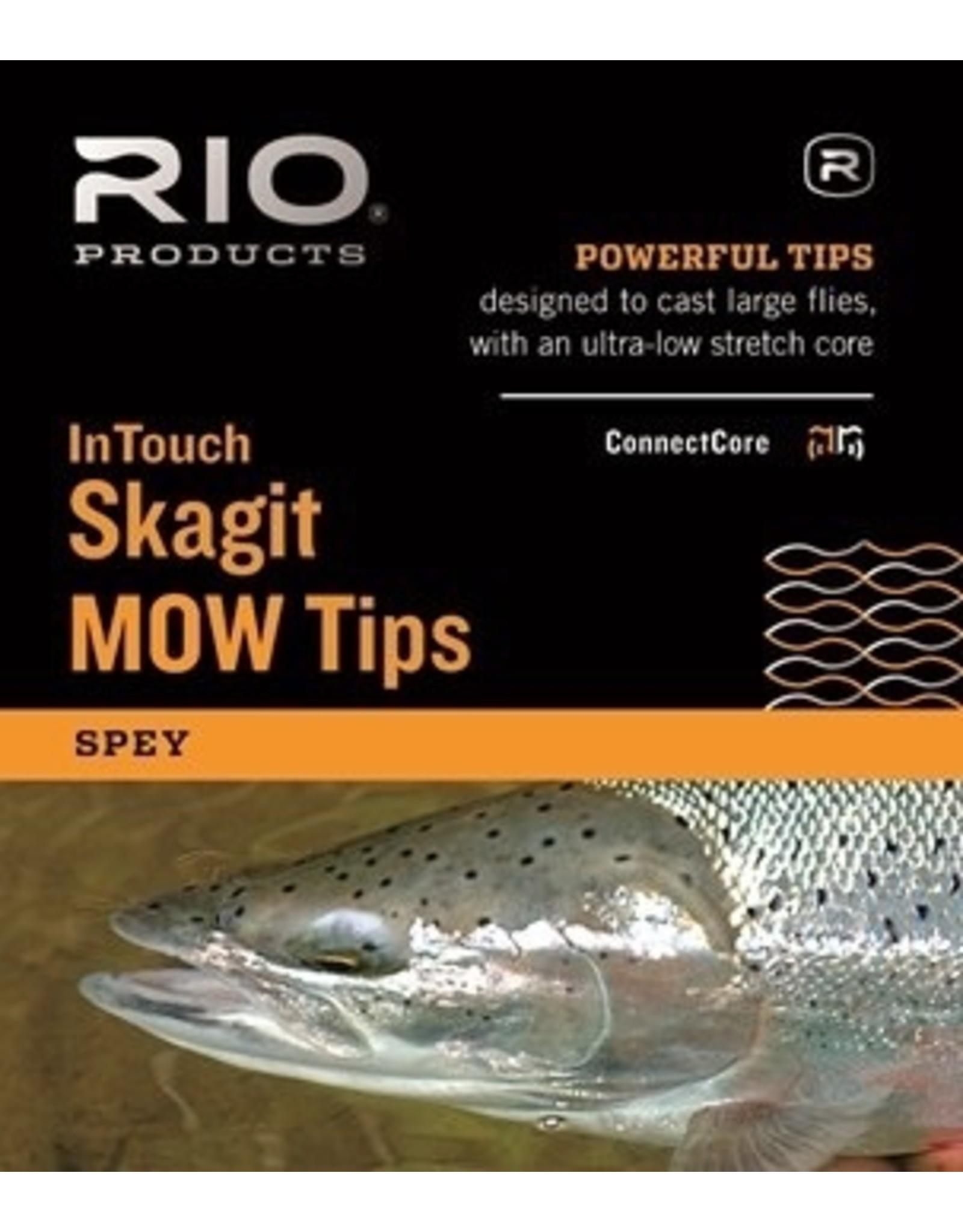 Rio Rio Skagit MOW tips Light IMOW 7.5 ft Int/ 2.5 ft T-8