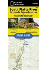 Nat Geo Nat Geo South Platte River Map (Detailed) 11 Mile to Chatfield
