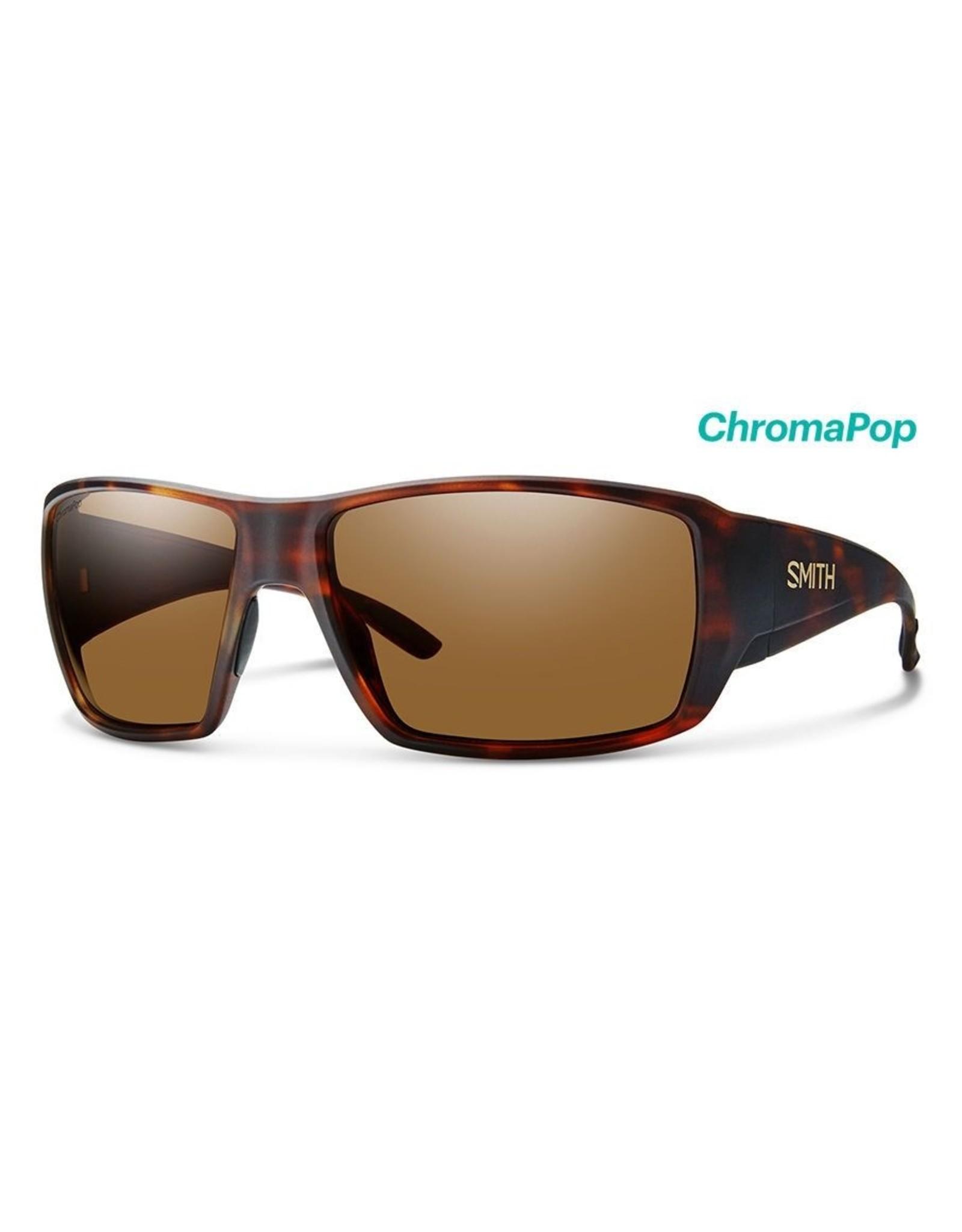 Smith SMITH Guide's Choice (ChromaPop Glass Polarized Brown) Matte Havana Frame