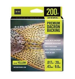 Hatch Hatch Premium Dacron Backing 20lb (200 yd)