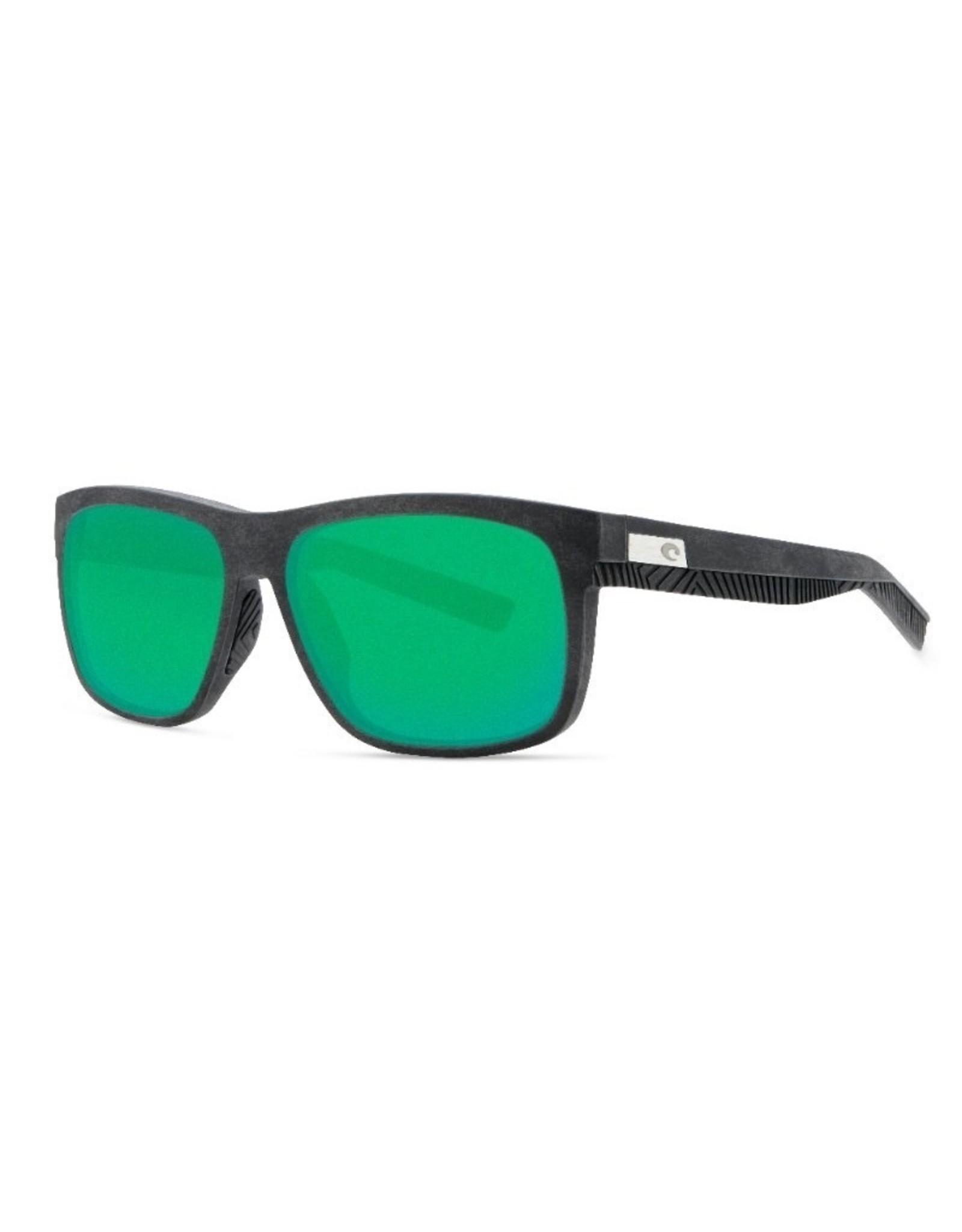 COSTA Baffin (580G Green Mirror) Gray with Black Rubber Frame