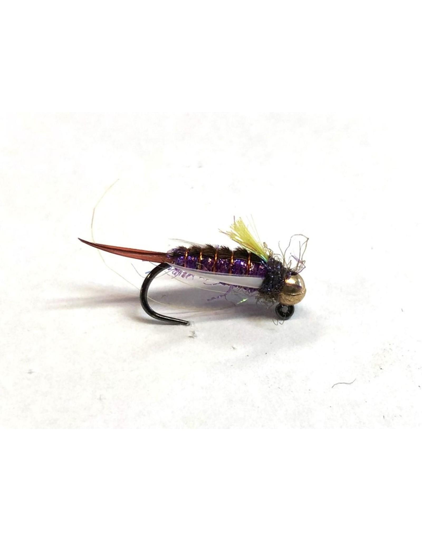 Umpqua Jigged Psycho Prince Purple (3 Pack)
