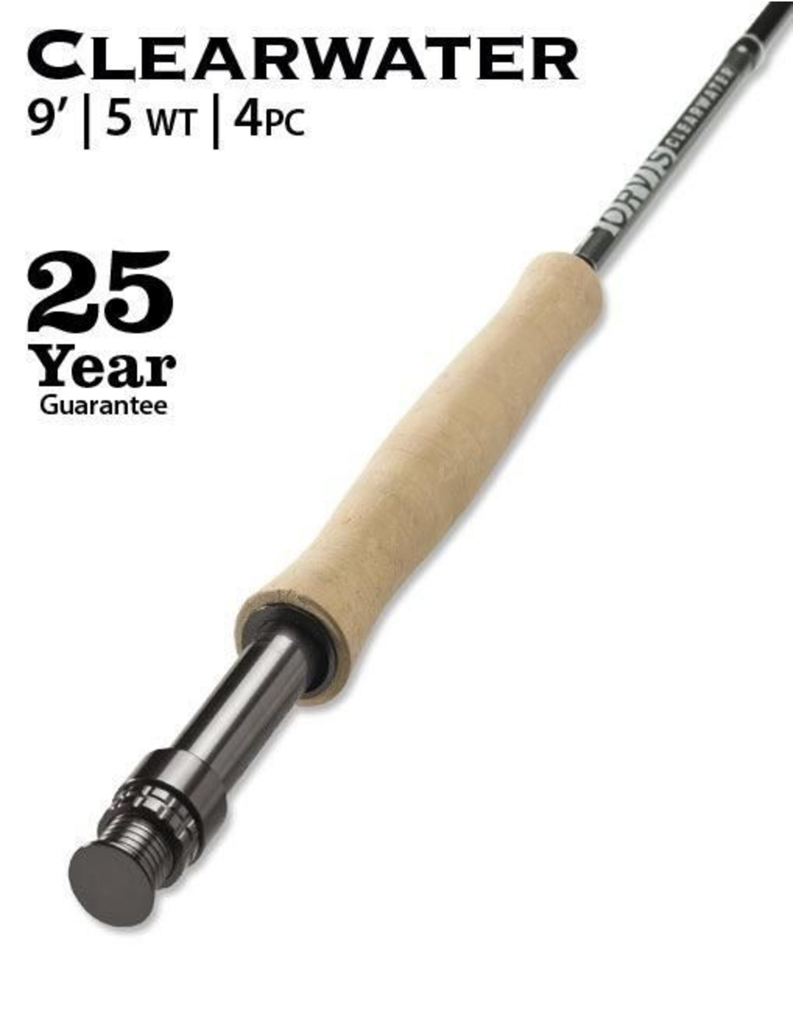 Orvis NEW Orvis Clearwater Fly Rod 9' 5wt (4pc)