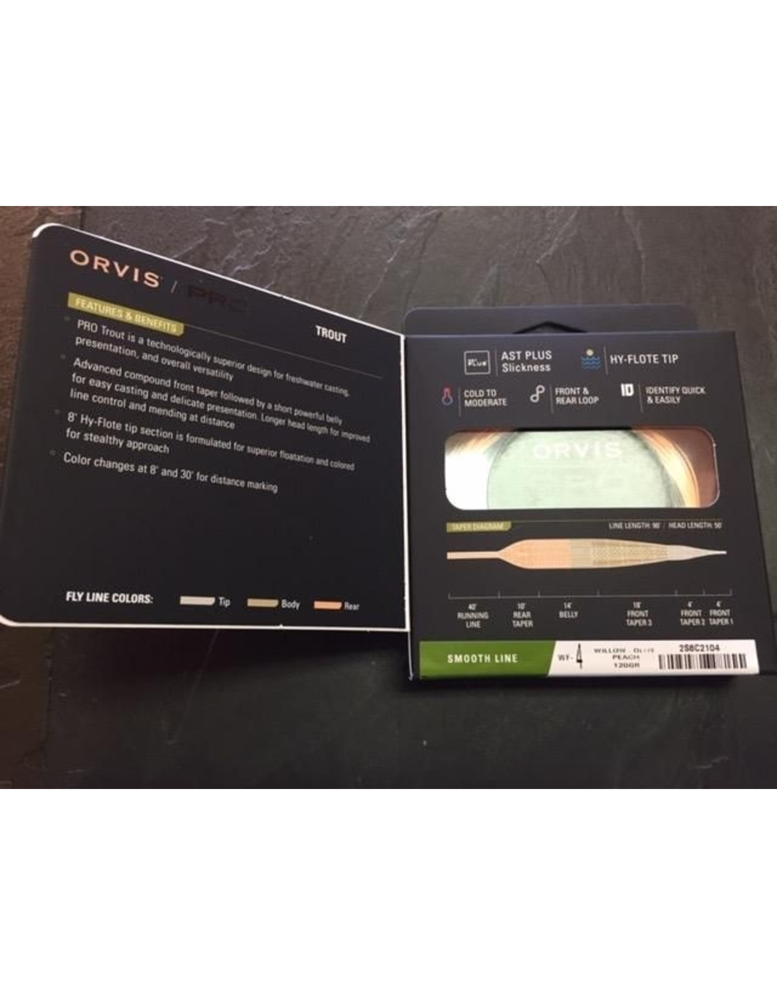 Orvis Orvis Pro Trout Line Smooth (Olive Tip)