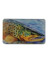 MFC MFC Midge Flyweight Fly Box- Hallock's Brown Trout