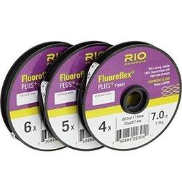 Farbank Rio Fluoro flex Plus Tippet (3 Pack, 4X, 5X, 6X