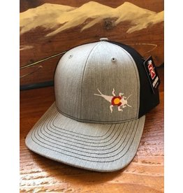 Richardson RGA Stonebug Twill Cap (Grey/Black)