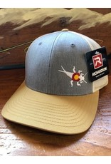 Richardson RGA Stonebug Trucker (Grey/Birch/Amber)
