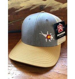 Richardson RGA Stonebug Trucker (Grey/Birch/Amber)