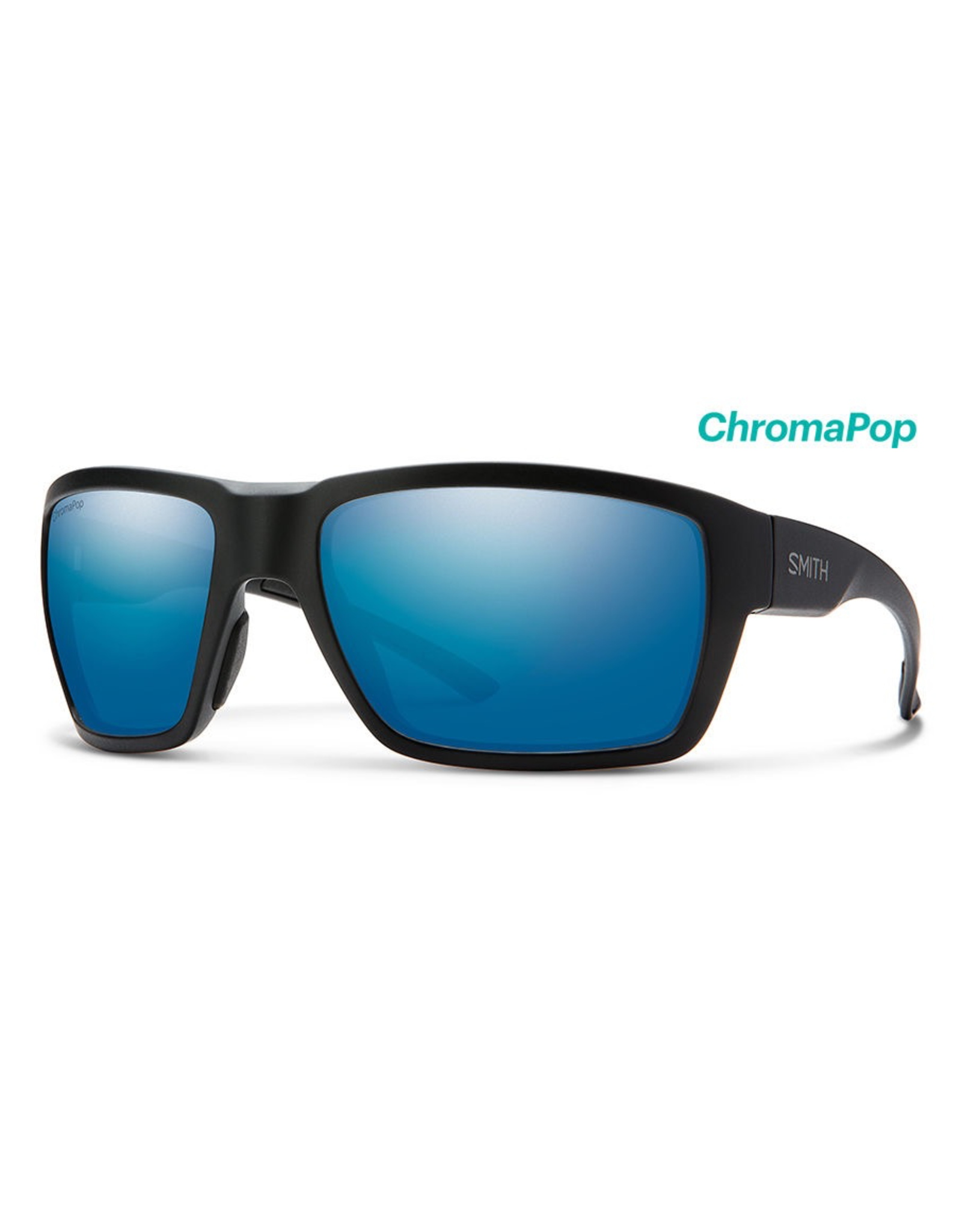 Smith Smith Highwater Matte Tortoise ChromaPop+ Polarized Blue Mirror