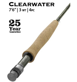 "Orvis NEW Orvis Clearwater Fly Rod 7'6"" 3wt (4pc)"