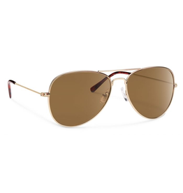 Forecast Optics Forecast Optics Kennedy Gold/Brown Polarized