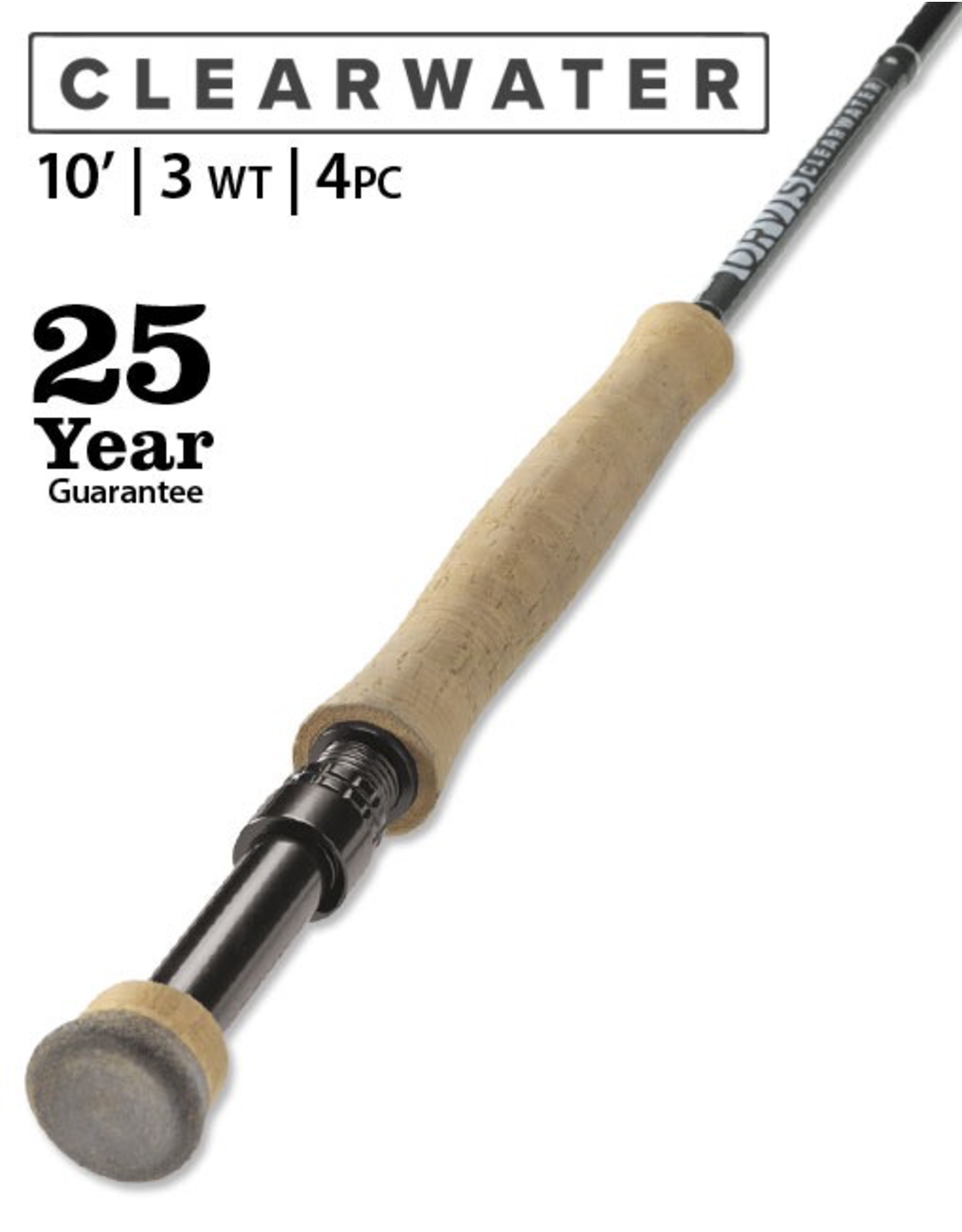 Orvis ORVIS Clearwater 10' 3wt Fly Rod (Euro)