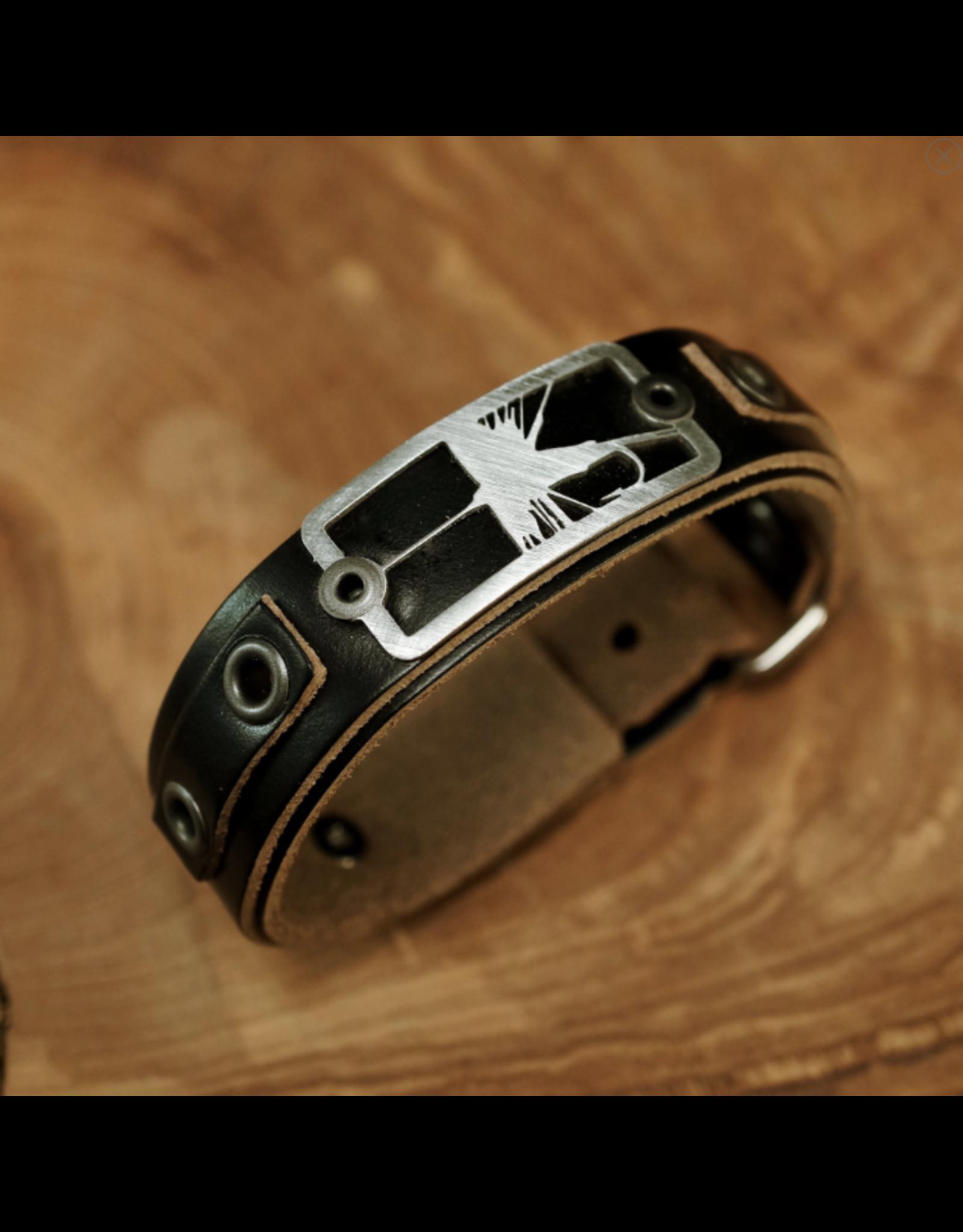 Sightline Sightline Dry Fly 2.0 Leather Bracelet