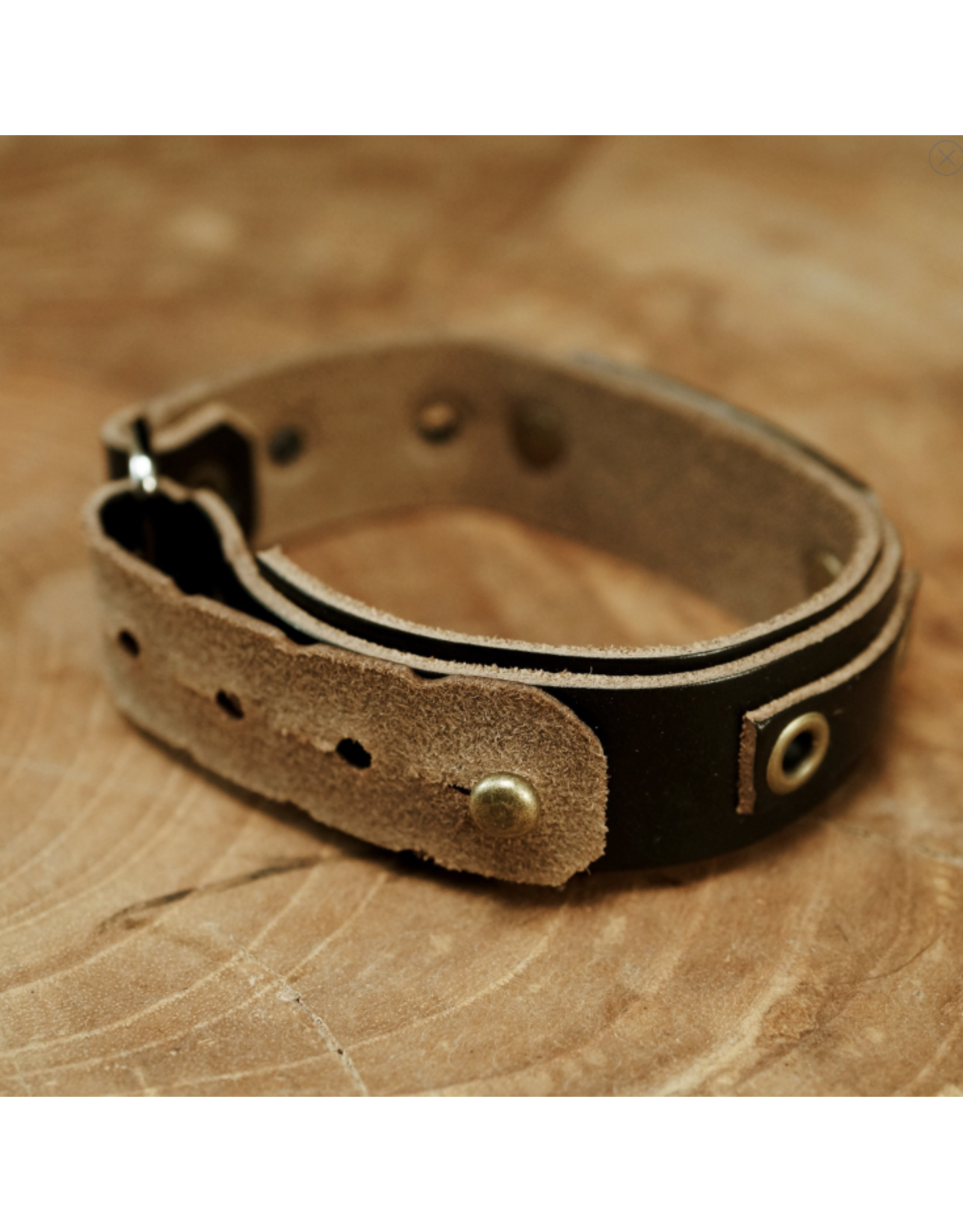 Sightline Sightline Dry Fly 2.0 Leather Bracelet