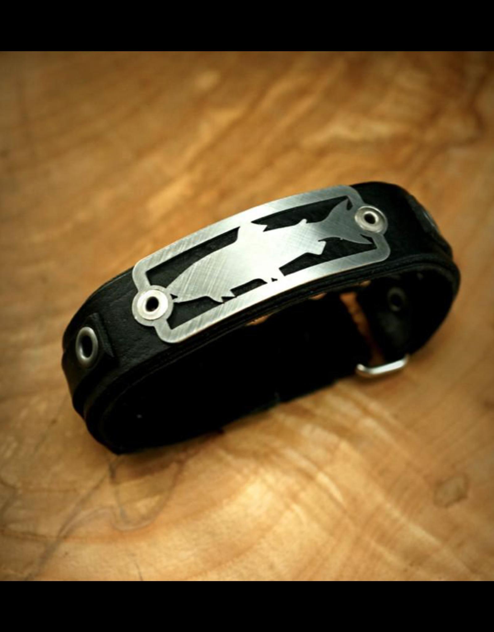 Sightline Sightline Trout 2.0 Leather Bracelet