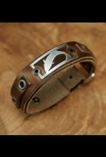 Sightline Sightline Trout Leather Bracelet