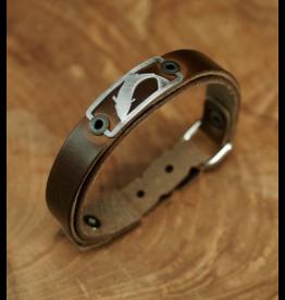 Sightline Sightline Trout (Skinny) Leather Bracelet