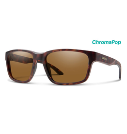 Smith Smith Basecamp Matte Tort ChromaPop Polarized Brown