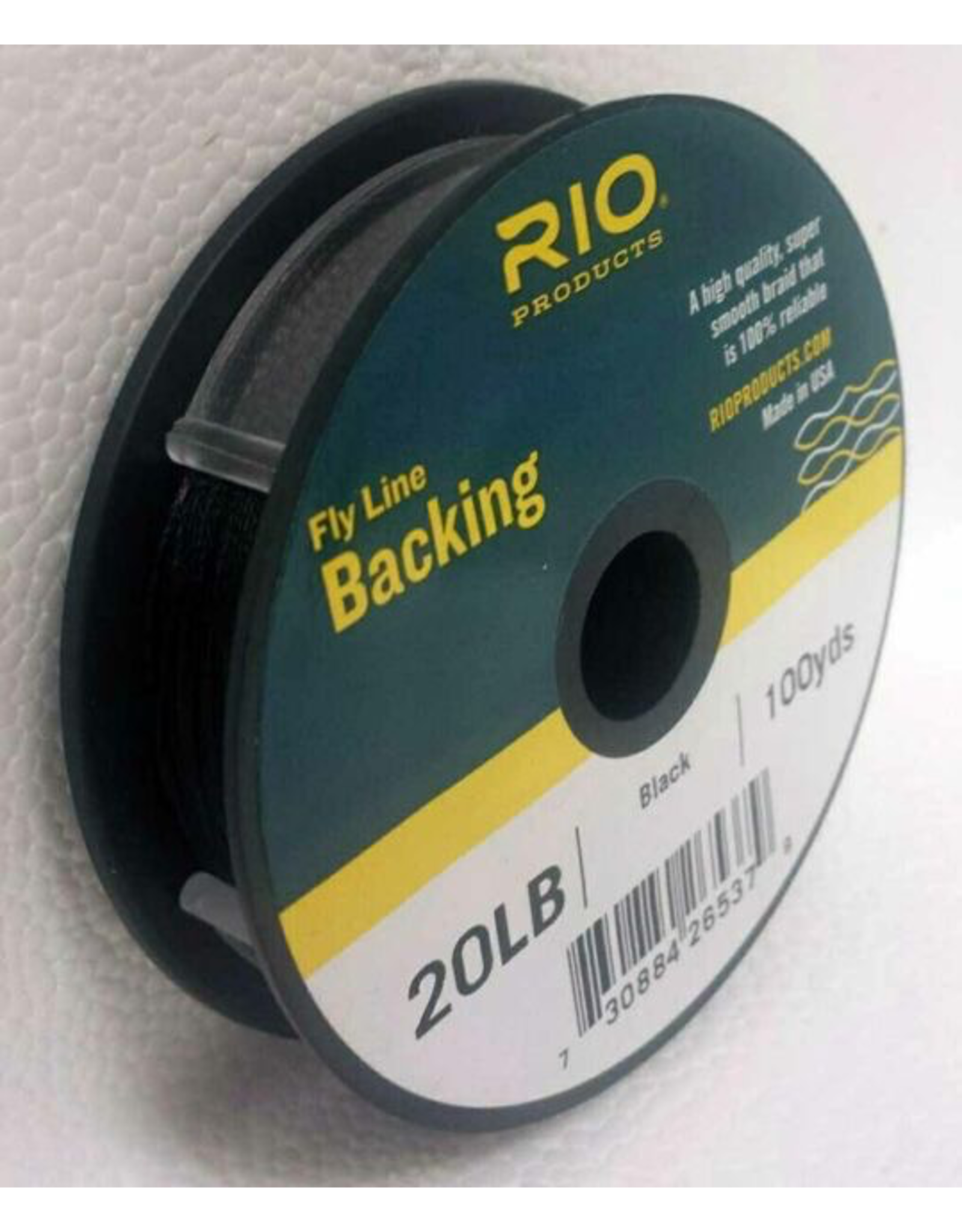 RIO Flyline Backing 20lb (200YDS) Black