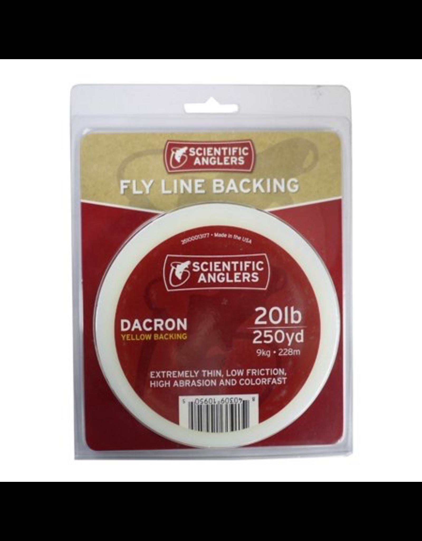 SA Scientific Antlers Dacron Backing, 20lb. 250 yds, white