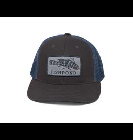 Fishpond Fishpond Meathead Hat Charcoal/Slate
