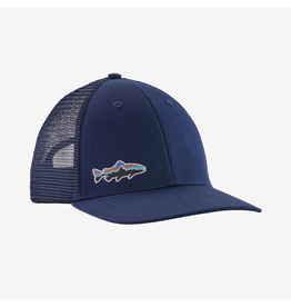 Patagonia Patagonia Lo Pro Trucker Classic Navy with Trout