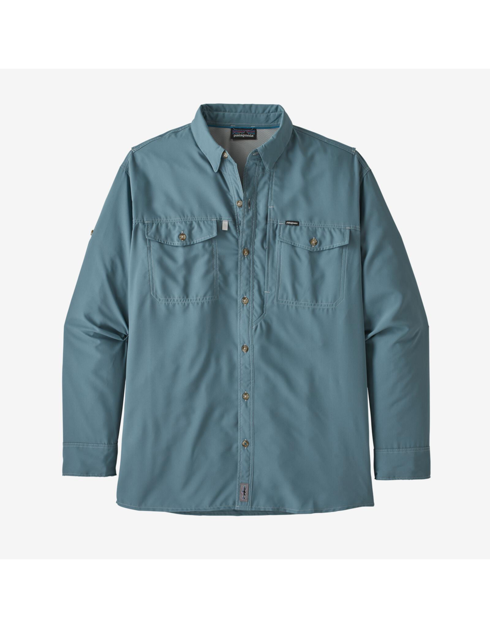 Patagonia Patagonia Sol Patrol  II Men's Long Sleeve Shirt (Pigeon Blue)