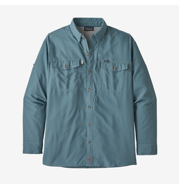 Patagonia Patagonia Sol Patrol  II Men's Long Sleeve Shirt (Pigeon Blue)