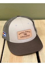 Stonebug Leather Patch Trucker- LoPro (Tan/Loden/Brown)