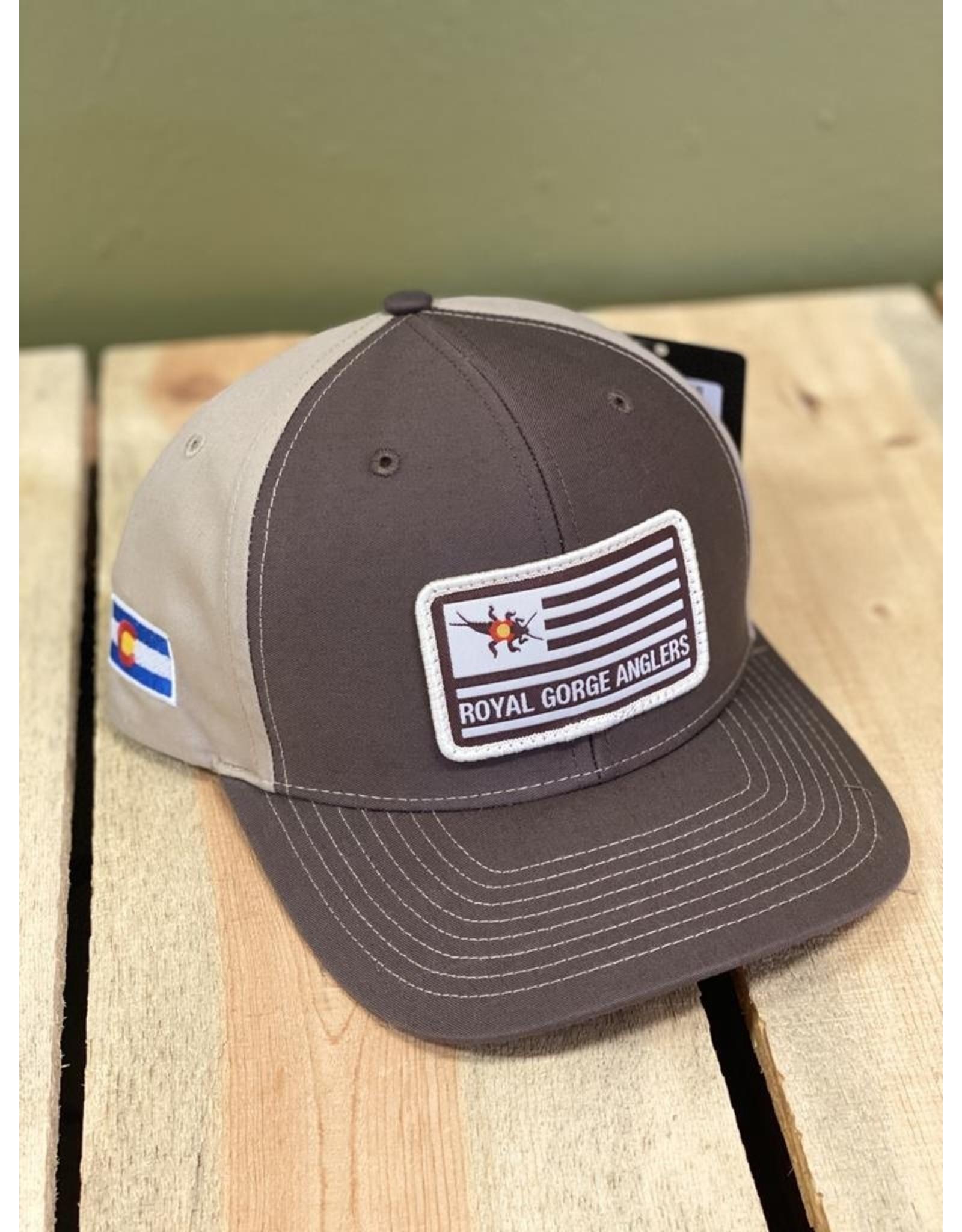 Stonebug Flag Patch Hat (Brown/Khaki)