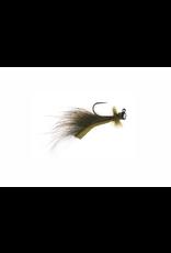 Umprqua Mini Leech Jig Olive 14 (2 pack)
