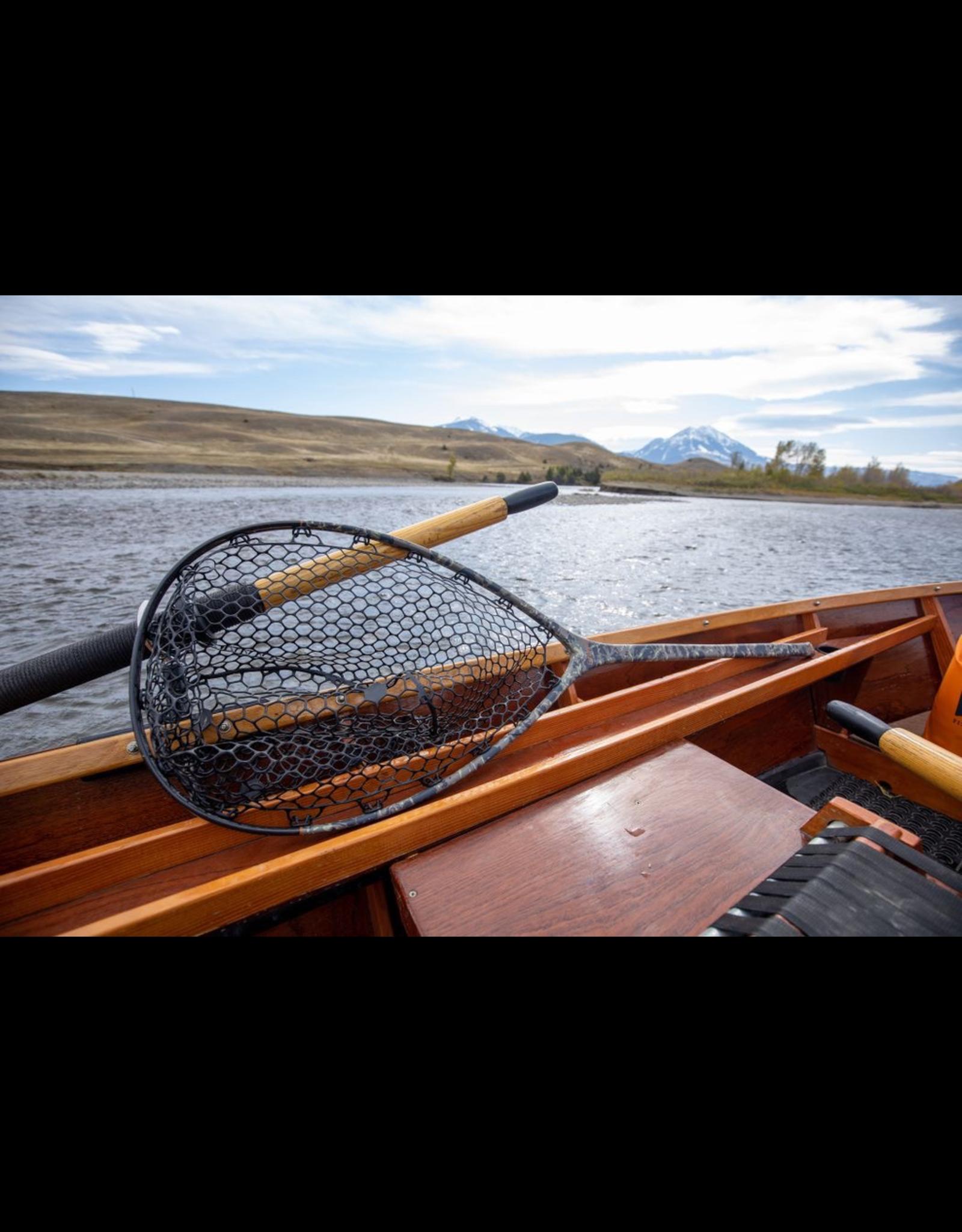 Fishpond Nomad Boat Net (Riverbed Camo)